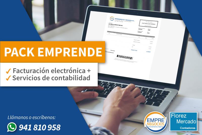 Facturación electrónica para tu negocio y servicios contables para tu negocio en Lima