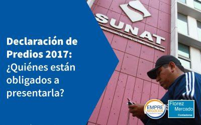 Declaración de predios 2017 vence entre el 1 y 7 de junio próximo ¿Quiénes están obligados?