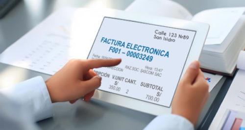 Nueva vigencia de la Sunat para el uso obligatorio de las facturas electrónicas