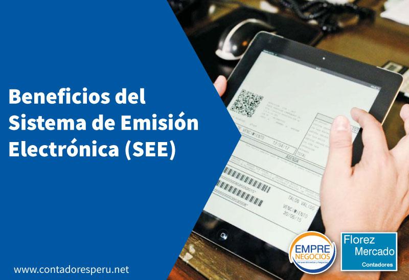 Beneficios del Sistema de Emisión Electrónica (SEE)