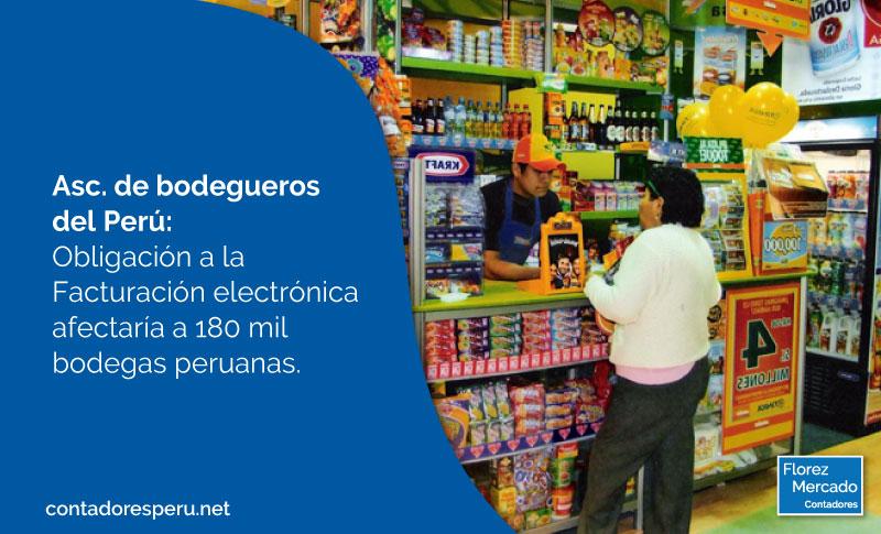 Facturación Electrónica podría afectar a más de 180 mil bodegas.
