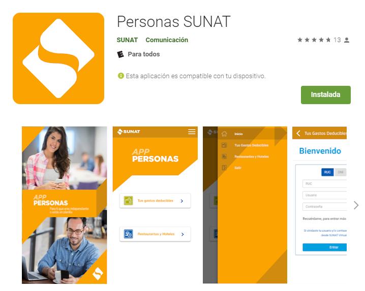 ¿Ya tienes la aplicación de la SUNAT para revisar tus gastos deducibles del Impuesto a la Renta?