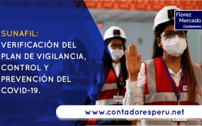SUNAFIL: Verificación del Plan de vigilancia, control y prevención del covid-19.
